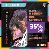 descontos jbc na ccxp 2017