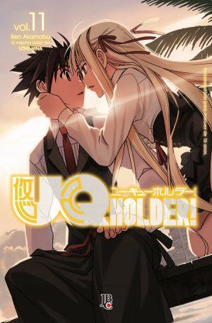 capa de UQ Holder! #11