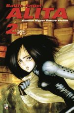 capa de Battle Angel Alita Digital #02