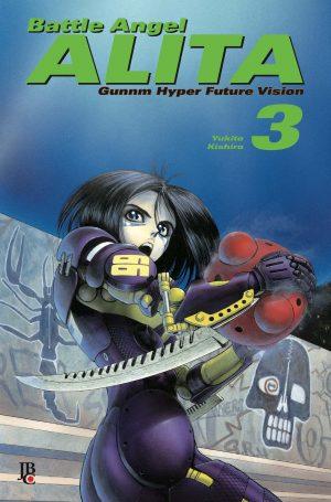 capa de Battle Angel Alita Digital #03