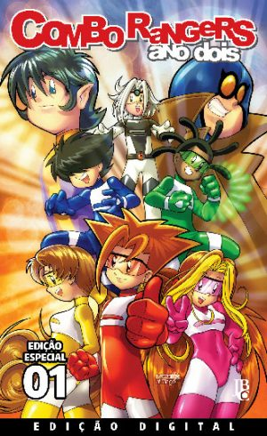 capa de Combo Rangers Ano Dois: Volume 1