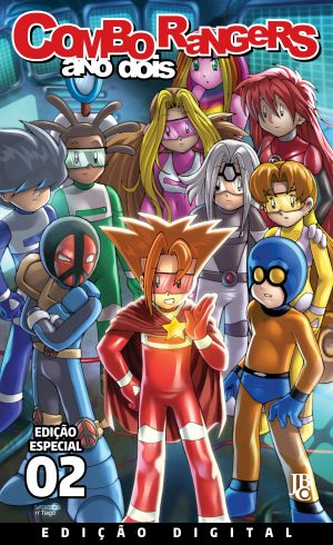 capa de Combo Rangers Ano Dois: Volume 2