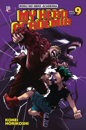 capa de My Hero Academia #09