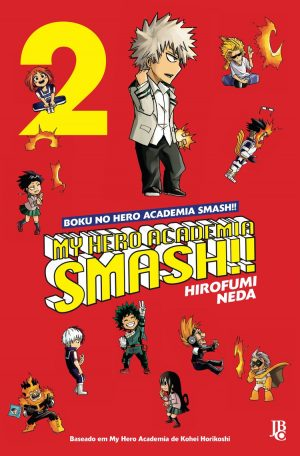 capa de My Hero Academia Smash! #02
