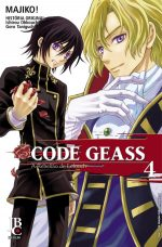 capa de Code Geass – A Rebelião de Lelouch #04