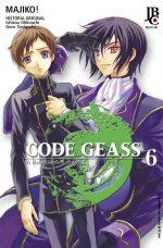 capa de Code Geass – A Rebelião de Lelouch #06