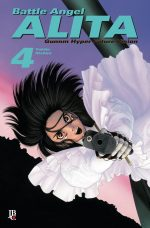 capa de Battle Angel Alita #04