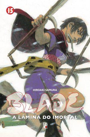 capa de Blade – A Lâmina do Imortal #15
