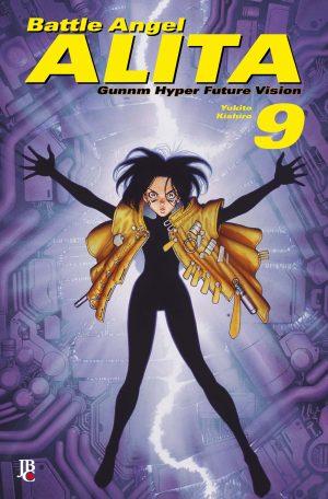 capa de Battle Angel Alita Digital #09