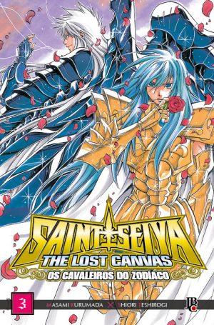 capa de CDZ The Lost Canvas ESP. #03
