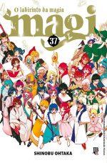 capa de Magi: O Labirinto da Magia #37