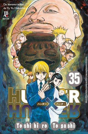 capa de Hunter x Hunter #35