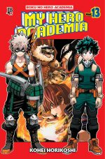 capa de My Hero Academia #13