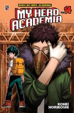 capa de My Hero Academia #14