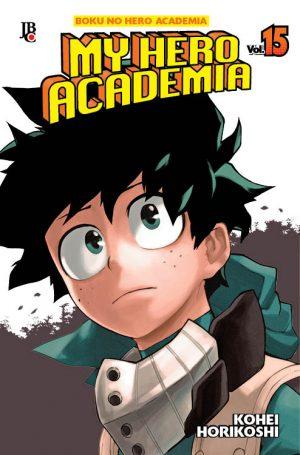 capa de My Hero Academia #15