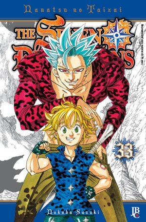 capa de The Seven Deadly Sins #33