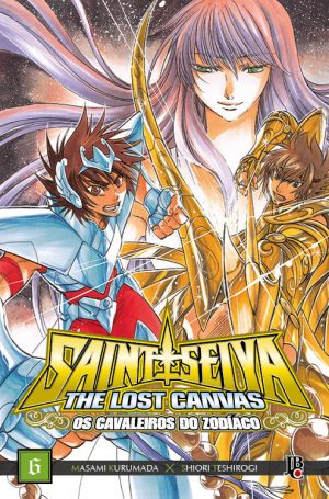 capa de CDZ The Lost Canvas ESP. #06
