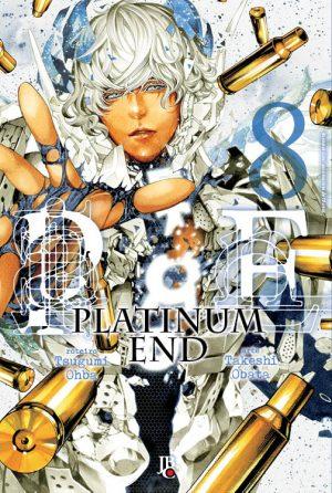 capa de Platinum End #08