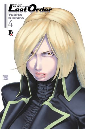 capa de Battle Angel Alita – Last Order #04