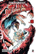 capa de My Hero Academia #18
