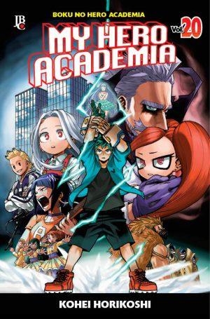 capa de My Hero Academia #20