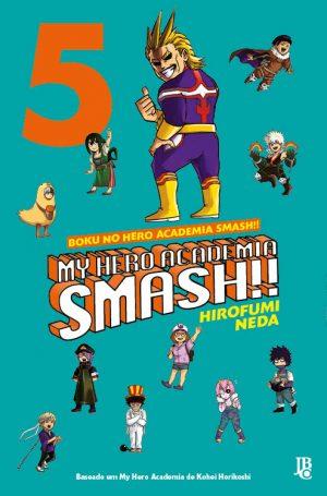 capa de My Hero Academia Smash!! #05
