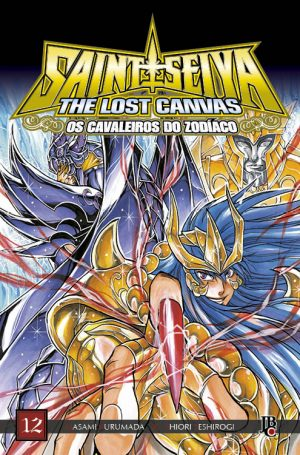 capa de CDZ The Lost Canvas ESP. #12