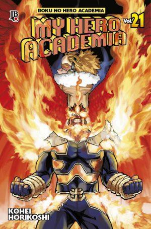 capa de My Hero Academia #21