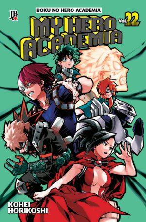capa de My Hero Academia #22
