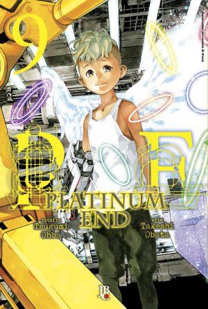 capa de Platinum End #09