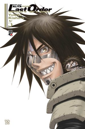 capa de Battle Angel Alita – Last Order #05