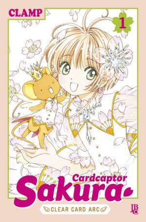 capa de Cardcaptor Sakura Clear Card Arc #01