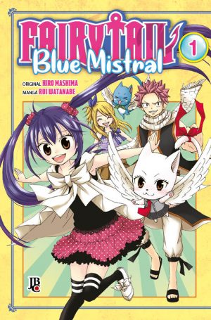 capa de Fairy Tail Blue Mistral #01