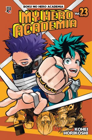 capa de My Hero Academia #23