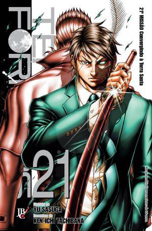 capa de Terra Formars #21
