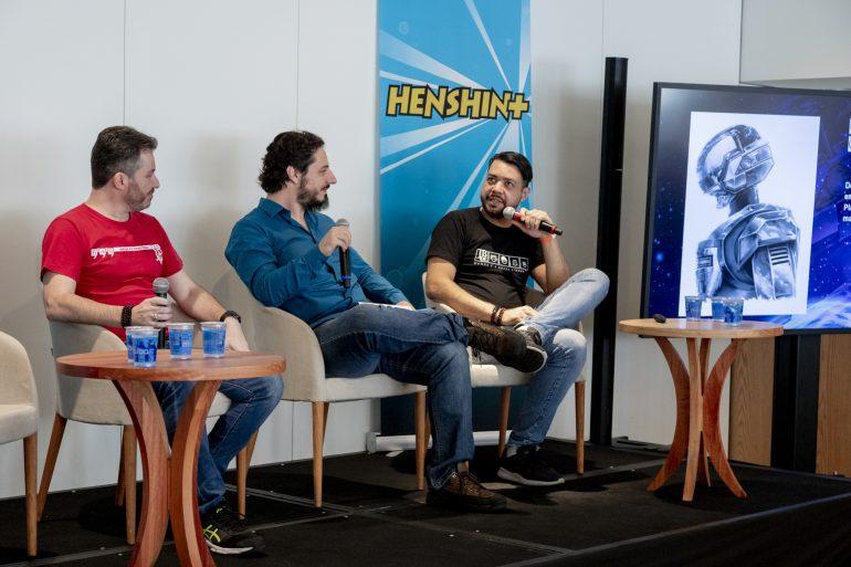 Marcelo del Greco Rafael Segnini e Edi Carlos Rodrigues Jaspion