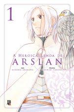 capa de A Heroica Lenda de Arslan #01