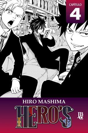 capa de HERO'S Capítulo #004