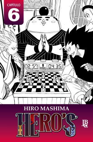 capa de HERO'S Capítulo #006