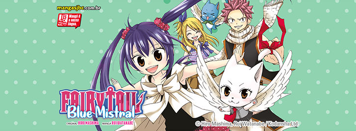 Fairy Tail – Blue Mistral