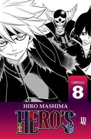 capa de HERO'S Capítulo #008
