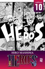 capa de HERO'S Capítulo #010