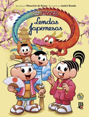 capa de Turma da Mônica: Lendas Japonesas