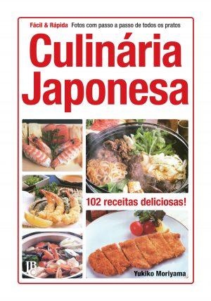 capa de Culinária Japonesa - Fácil & Rápida