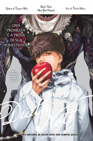 capa de Death Note One Shot Especial