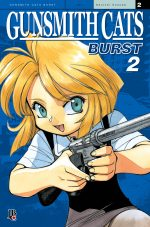capa de Gunsmith Cats - Burst #02