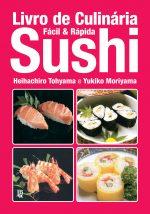 capa de Livro de Culinária Sushi