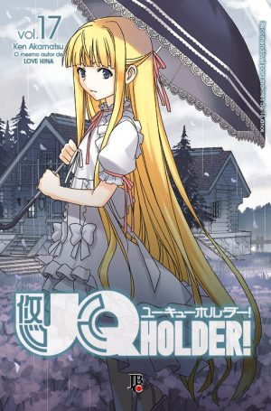 capa de UQ Holder! #17