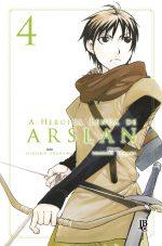 capa de A Heroica Lenda de Arslan #04