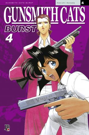capa de Gunsmith Cats - Burst #04